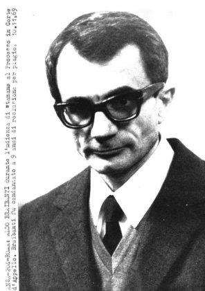 Aldo Braibanti, foto del 10.11. 1969